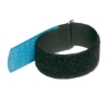 Cable Tie 220x25mm with Hook Blue, (10 pieces)